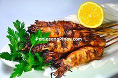 grilled calamari squid recipe