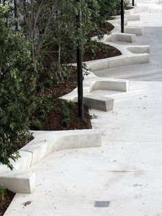 concrete urban bench - Gardening For You