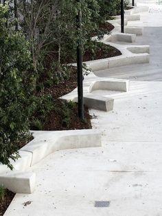 concrete urban bench - Gardening For You