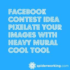 Facebook contest Idea and a cool tool #socialmedia #marketing   www.bellestrategies.com