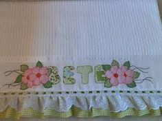 riscos para toalhas de banho em patchwork - Pesquisa Google