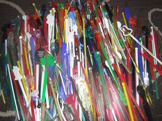300+ Swizzle Sticks, Blank Generic No Name Birds Lobsters Icicles Golf Flamingos