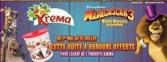 Boîte à bonbons Krema Madagascar 3