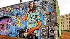 Street art in Amsterdam, The Netherlands