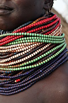 the omo valley, ethiopia by line x shape x colour