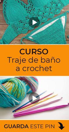Crochet Tank Tops, Crochet Shirt, Crochet Gifts, Crochet Bikini, Top Tejidos A Crochet, Knit Crochet, Bikini Pattern, Knitting Designs, Crochet Patterns