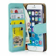 Golden Phoenix iPhone 6 Plus Schutzhülle Royal Wildleder türkis