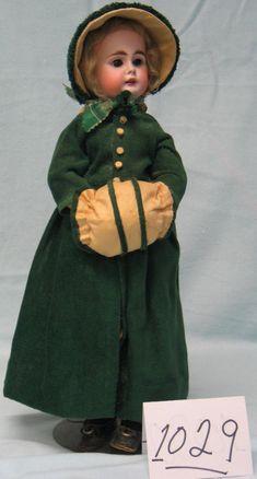 1029: German child doll, Baehr & Proeschild, dolly face