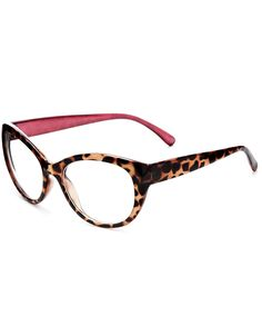 Cat eye clear lens glasses