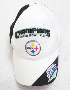 Pittsburgh Steelers Baseball Hat Cotton Super Bowl XLIII Cap One Size Fits  All 9a62a6f2b