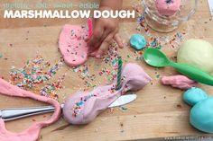 Edible Marshmallow Dough   Mama Papa Bubba