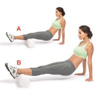 Soothe Muscle Soreness | Women's Health Magazine - I have a love/hate relationship with my foam roller, hate because I'm crying whilst rolling, love because after i'm done no more after workout soreness. a few minutes of pain vs a few days of pain.----- hmmmm, does this work?