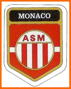 As monaco saison 1989 1990 1 2 finaliste coupe des coupes - Ecusson monaco ...