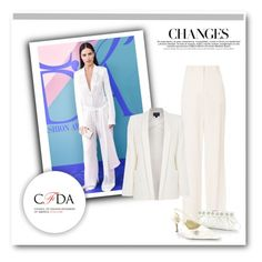 """""""Best Dressed CFDA Awards: Adriana Lima"""" by malinda108 ❤ liked on Polyvore featuring A.L.C., Armani Jeans and cfda"""