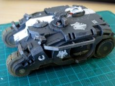 Raven Guard Tactical Response Vehicle (Rhino-proxy, CNC Workshop, Miniature Scenery)