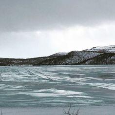 "- A little ""spring-feeling"" I felt here today ~ the ice on the lake has been melting a bit ~ have a nice weekend my friends 🔆🐟 #spring #springfeeling #icemelting #lake #fishing #kevät #jää #järvi #kalastus #vår #vårkänsla #issmältning #insjö #fiska #vårfølelse #issmelting #innsjø #fiske #arcticlife #arcticliving #arctic #050517"