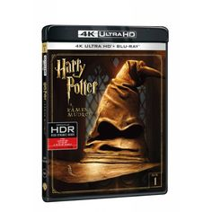 Blu-ray Harry Potter a kámen mudrců, UHD + BD, CZ dabing | Elpéčko - Predaj vinylových LP platní, hudobných CD a Blu-ray filmov Harry Potter, Blues, Fantasy, Fantasia