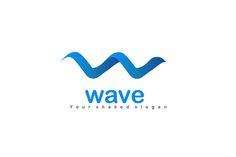 Wave Logo Design - Brannet Market Dna Logo, Surf Logo, Waves Logo, Professional Logo Design, Best Logo Design, Cool Logo, Inspire Me, Slogan, Shapes