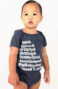 Baby in ODB onesie
