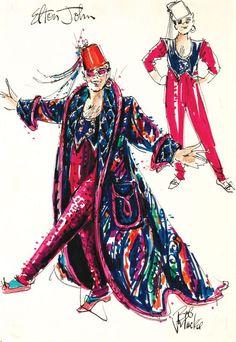 Bob Mackie Design For Elton John