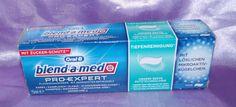 Es wurde mal Zeit für was Neues und so habe ich mir von blend a med die Pro Expert Zahncreme gekauft mit Zucker Schutz.