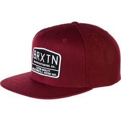 e5e7b10f Brixton Axle Snapback Hat ($21) ❤ liked on Polyvore featuring accessories,  hats, brixton hats, brixton, brixton snapback, snap back hats and snapback  hats