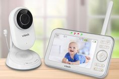 With customizable alerts and a library of lullabies, the VM5271 is like a high-tech nanny for your nursery.