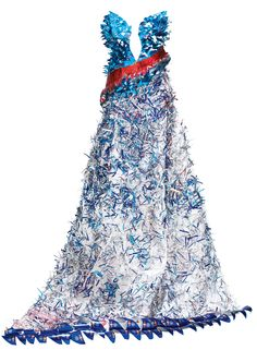 Need a prom dress: Recycled Art - Red Bull Art of Can exhibit