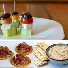 apps - love the cucumber, feta, tomato, black olive on stick! 30th Party, Post Wedding, Wedding Designs, Wedding Ideas, Party Treats, Party Snacks, Easy Appetizer Recipes, Appetizers, Snack Recipes