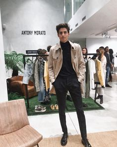 "GERARD SABÉ 🌴 on Instagram: ""Finally back in Milano with @antonymorato_official #moratoexperience #adv"""