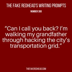 TFR's Writing Prompt 300