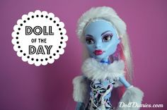 Doll of the Day – Monster High Abbey Bominable