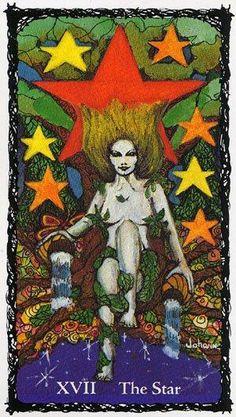 The Star - Sacred Rose Tarot