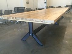 """16' x 54"""" conference table"""