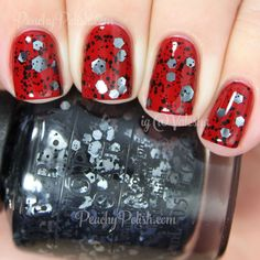 OPI So Elegant over OPI Cinnamon Sweet | Holiday 2014 Gwen Stefani Collection | Peachy Polish