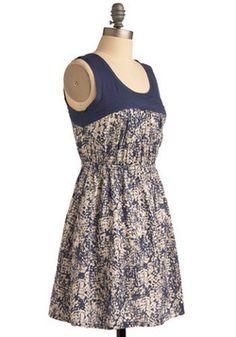 Take Your Pat-turn Dress, #ModCloth