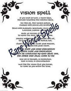 Ancient Psychic Vision Spell Wicca Book of Shadows Pagan Witchcraft Ritual Magick Spells, Wicca Witchcraft, Green Witchcraft, Love Psychic, Witch Board, Online Psychic, Witch Spell, Love Spells, Psychic Readings