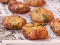 Potato Vadas - contains gluten, Vegan