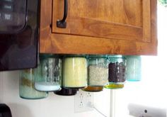 Kitchen Jar Organizers | Easy Organization Ideas for the Home