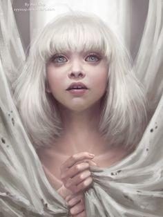 Maddie Ziegler (Sia - Chandelier) by AyyaSap.deviantart.com on @DeviantArt