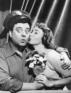"""The Honeymooners""- Jackie Gleason and Audrey Meadows (1955-1956)"