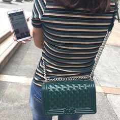 49a7d16a2f3a Green jelly toyboy Mini Bags, Chanel Boy Bag, Jelly, Jelly Cream, Jello