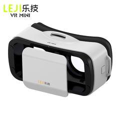 Original LEJI MINI VR Play Black Google Cardboard LEJI MINI VR Box Glasses Virtual Reality Goggles for Android iPhone 4.5''-5.5'