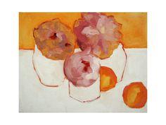 Peonies and Kumquats Wall Art Prints by Lynne Millar   Minted