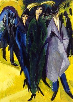 Ernst Ludwig Kirchner Expressionism | Ernst Ludwig Kirchner 1880-1938 | German expressionist