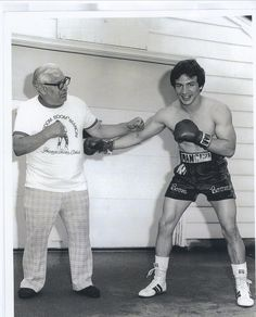 """From Youngstown, Ohio, Ray """"Boom Boom"""" Mancini / A lightweight contender, like father like son / He fought for the title with Frias in Vegas / And he put him away in round number one"""