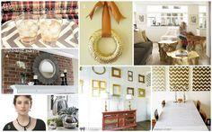 8 metallic craft/diy projects