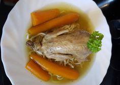 Sült leves   Ágnes Bakos receptje - Cookpad receptek Okra, Recipes, Food, Gumbo, Essen, Meals, Ripped Recipes, Yemek, Eten