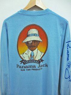 Vintage 80s PANAMA JACK t-shirt. Everyone had one!