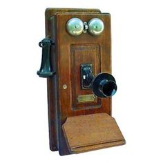 Not sure this would be compatible with my internet phone service (duh! - Home Phone Service Telephone Vintage, Vintage Phones, Radios, Antique Phone, Radio Antigua, Antique Picture Frames, Home Phone, Phone Service, Vintage Antiques